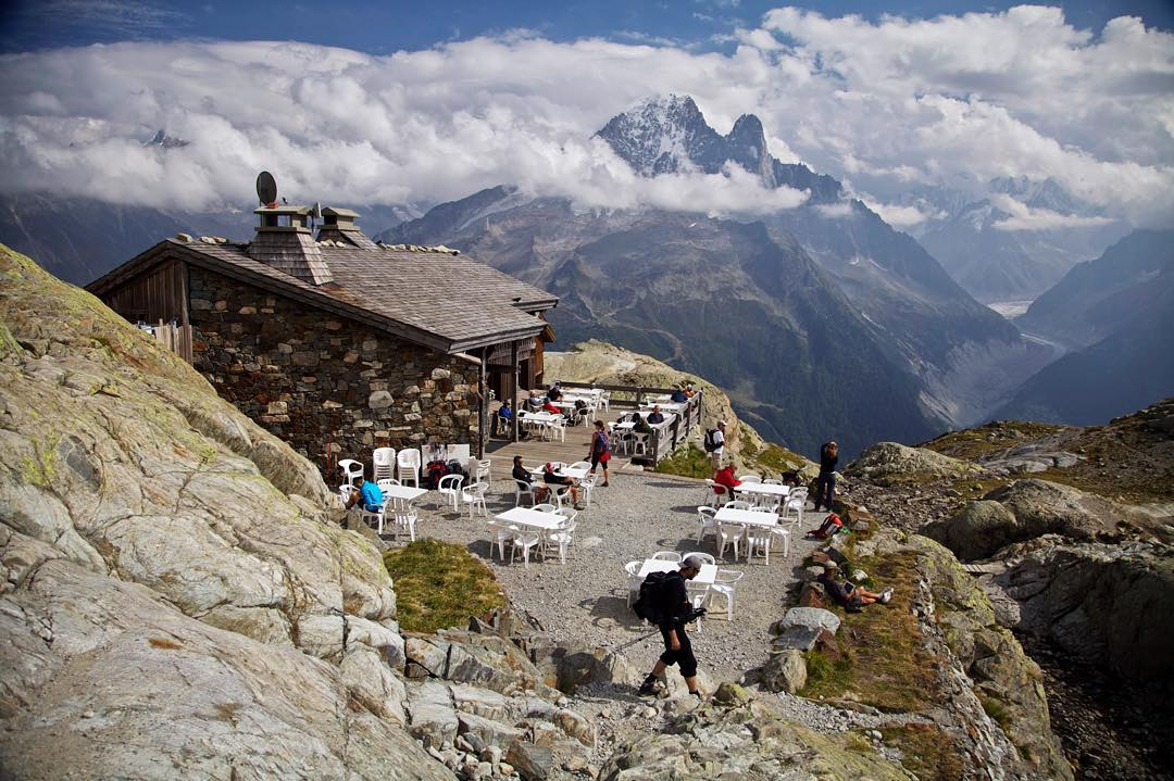 Aiguille du dru, Chamonix, Pháp