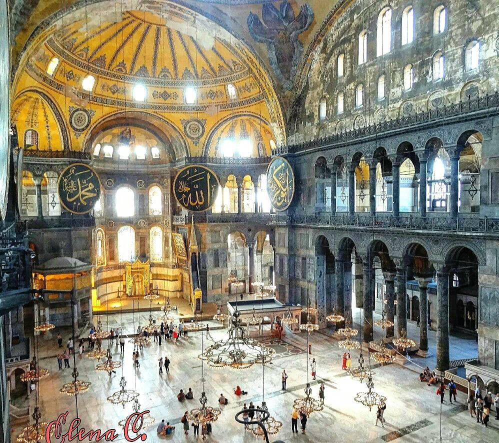 Hagia Sophia, Thổ Nhĩ Kỳ