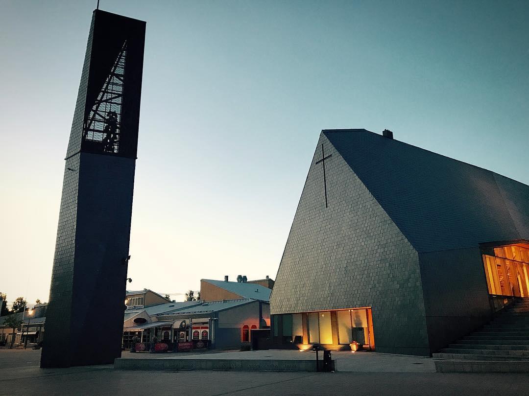 Kuokkalan kirkko, Phần Lan