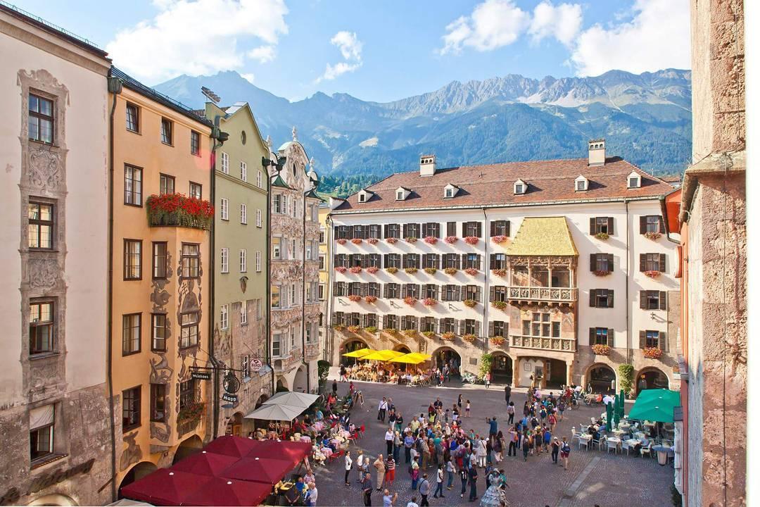 Golden Roof, Altstadt, Innsbruck,Tyrol (Áo)