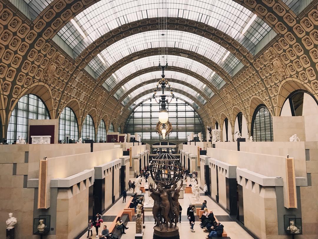 Bảo tàng Musée d'Orsay, Paris, Pháp
