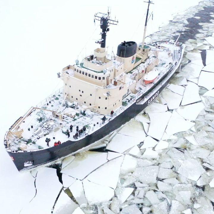 tàu phá băng Sampo, Phần Lan