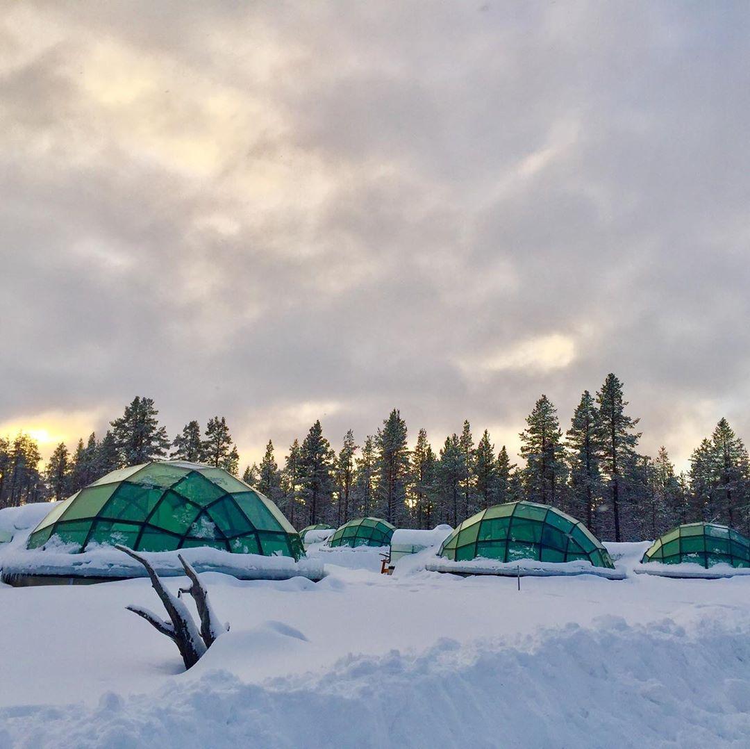 Làng Saariselka, Kakslauttanen arctic resort, Phần Lan