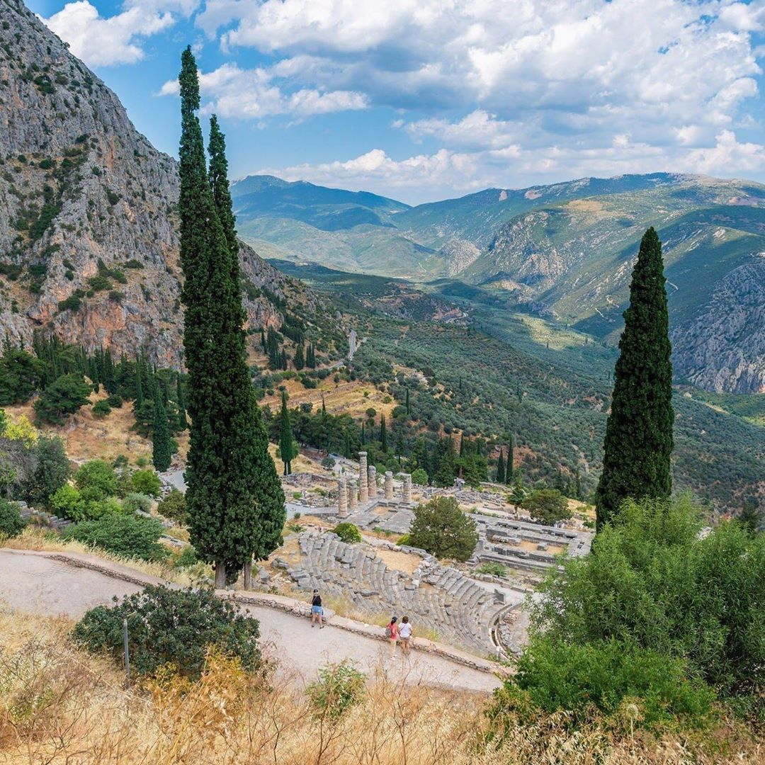 Delphi, Athens, Hy Lạp
