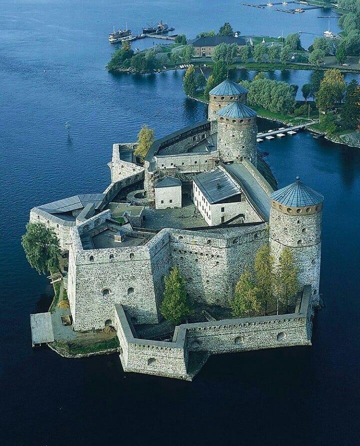 Tòa lâu đài Olavinlinna, Phần Lan