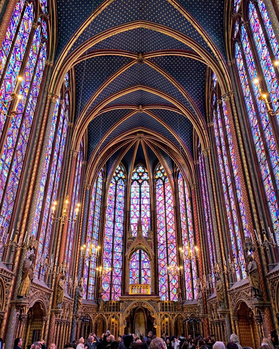 Sainte Chapelle de Paris, Pháp