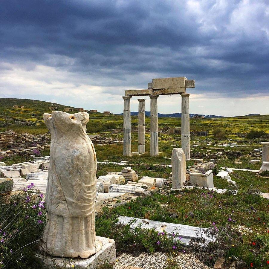Đảo Delos, Hy Lạp