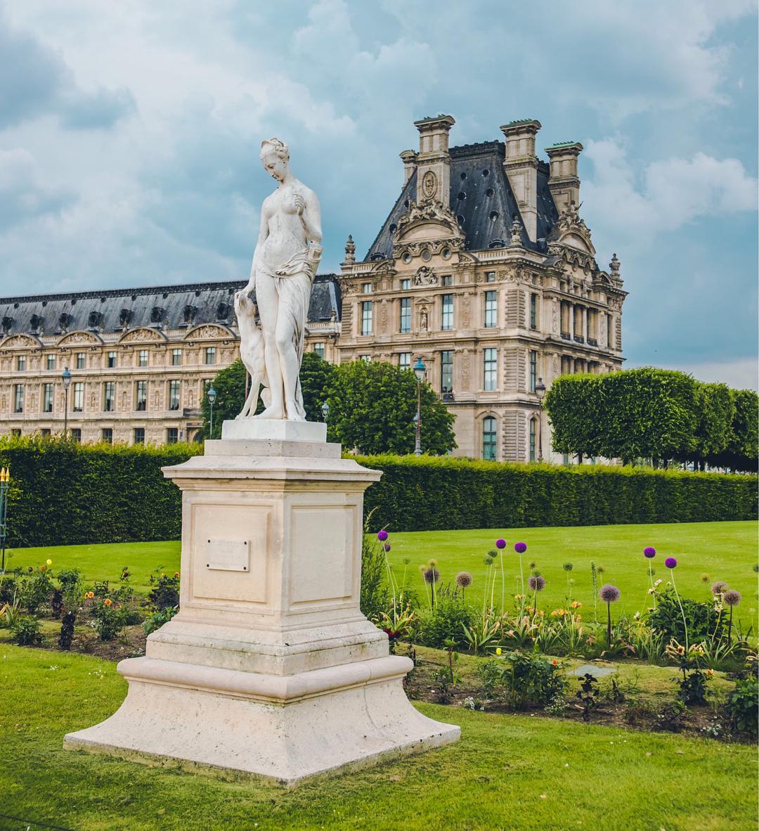 Le Jardin des Tuileries, Pháp