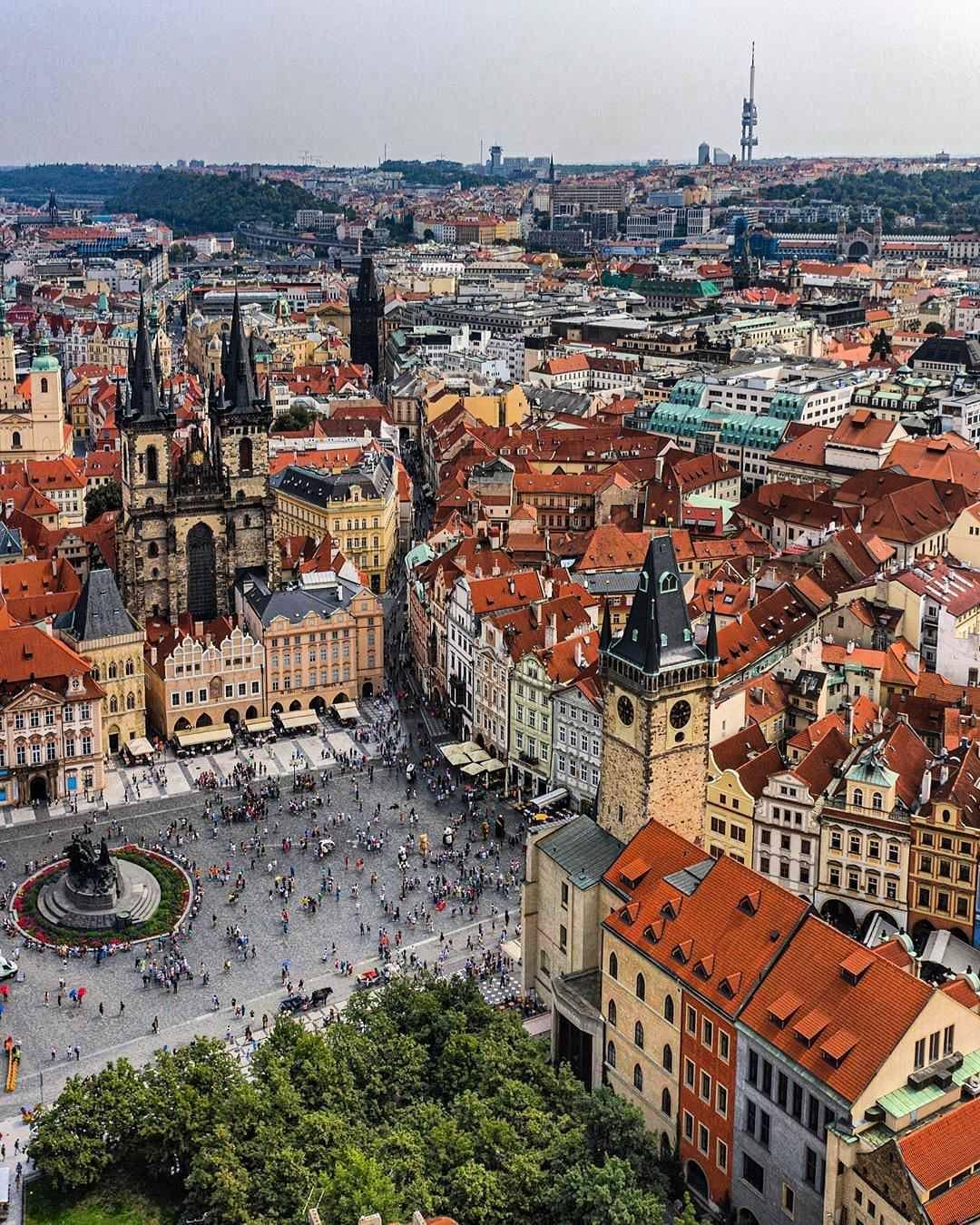 Quảng trường Old Town, Prague, Cộng hòa Czech