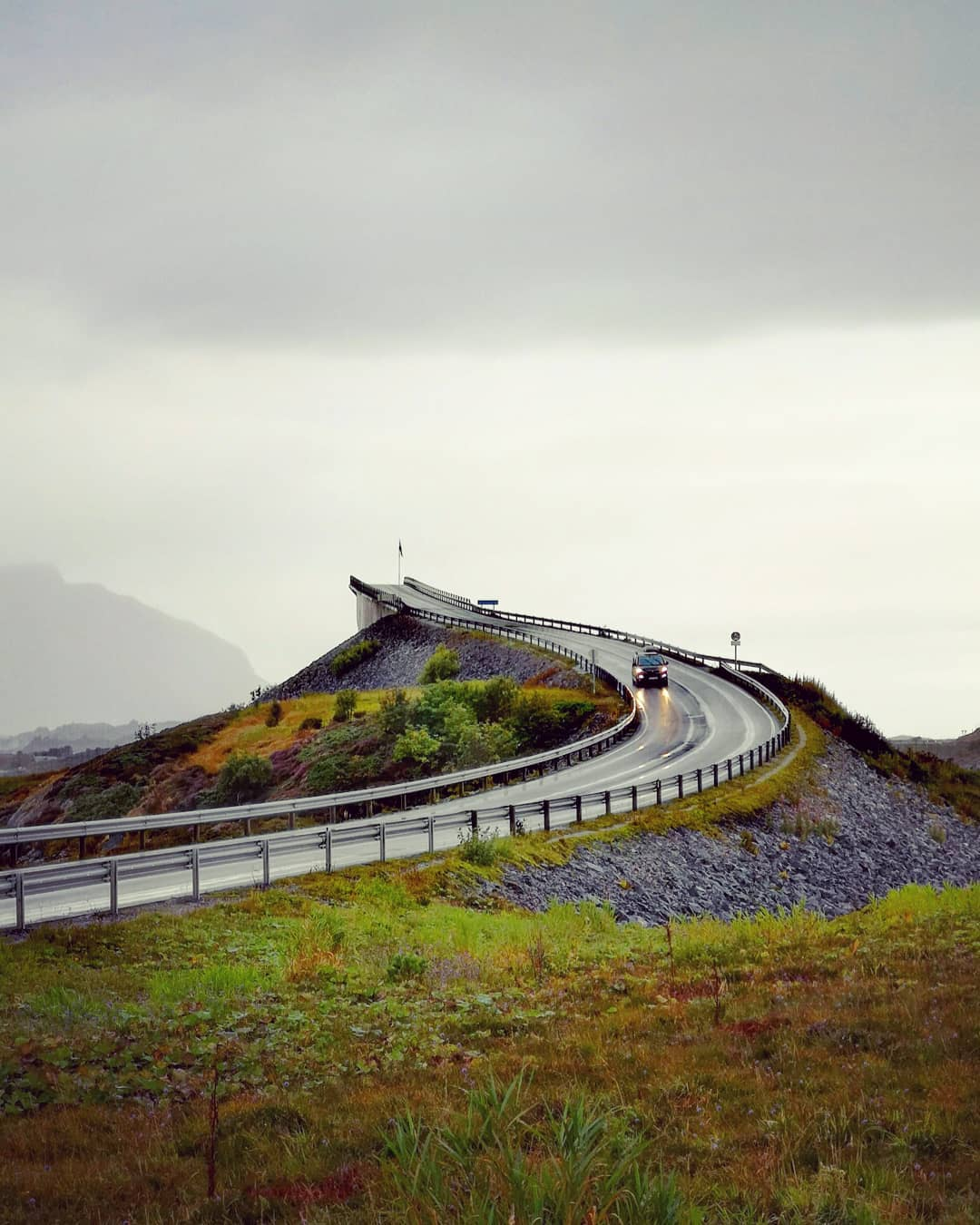 Atlantic Ocean Road, Na Uy