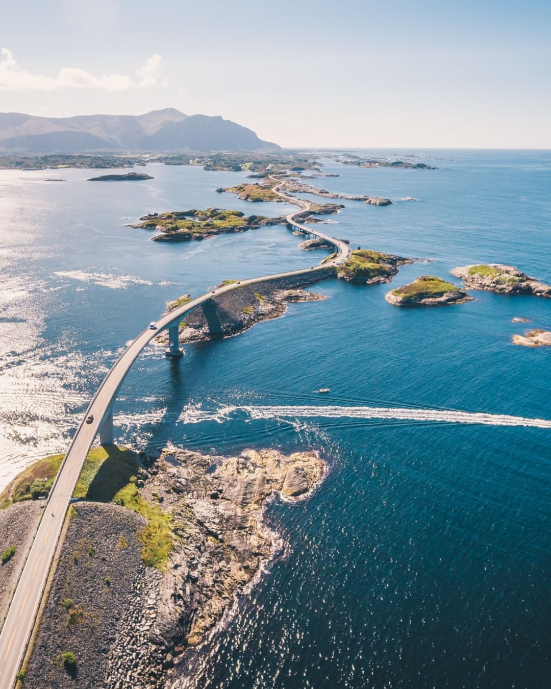 Atlantic road, Na Uy