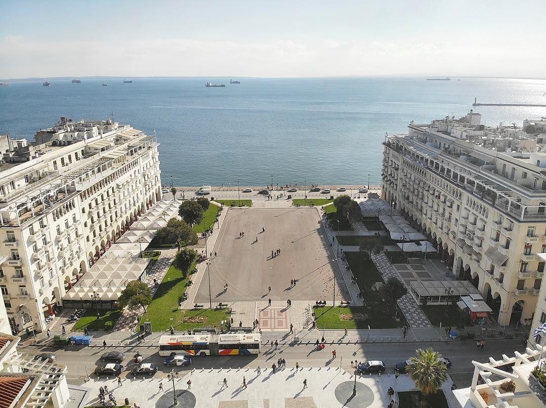 Quảng trường Aristotelous ở Thessaloniki, Hy Lạp