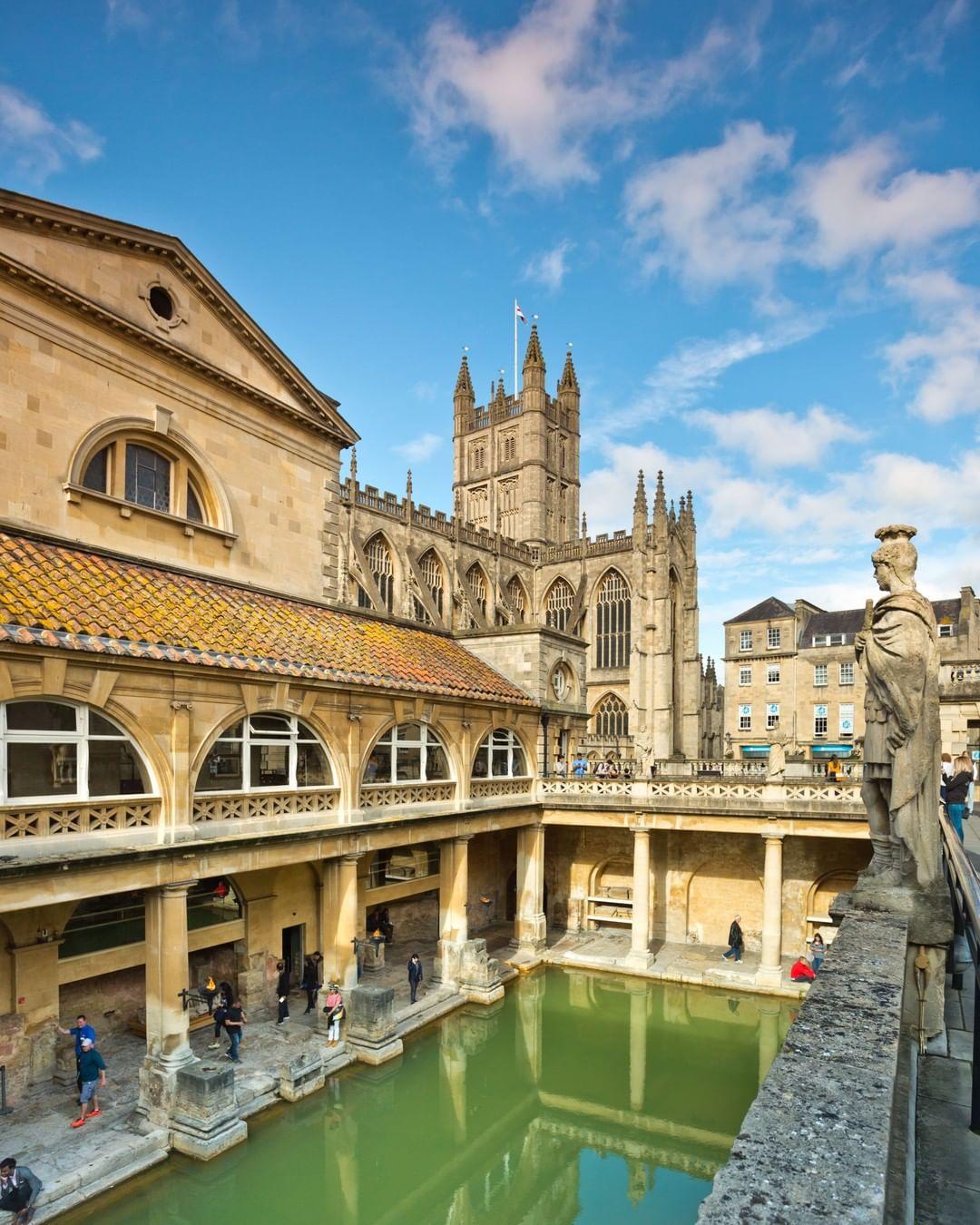 The Roman Baths, Vương quốc Anh