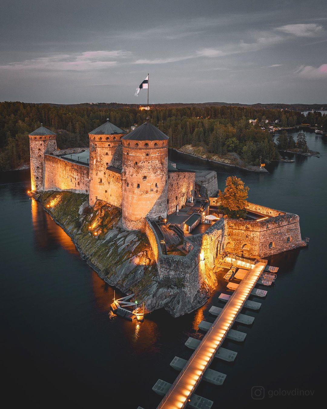 Lâu đài Olavinlinna, hồ Savonlinna, Phần Lan