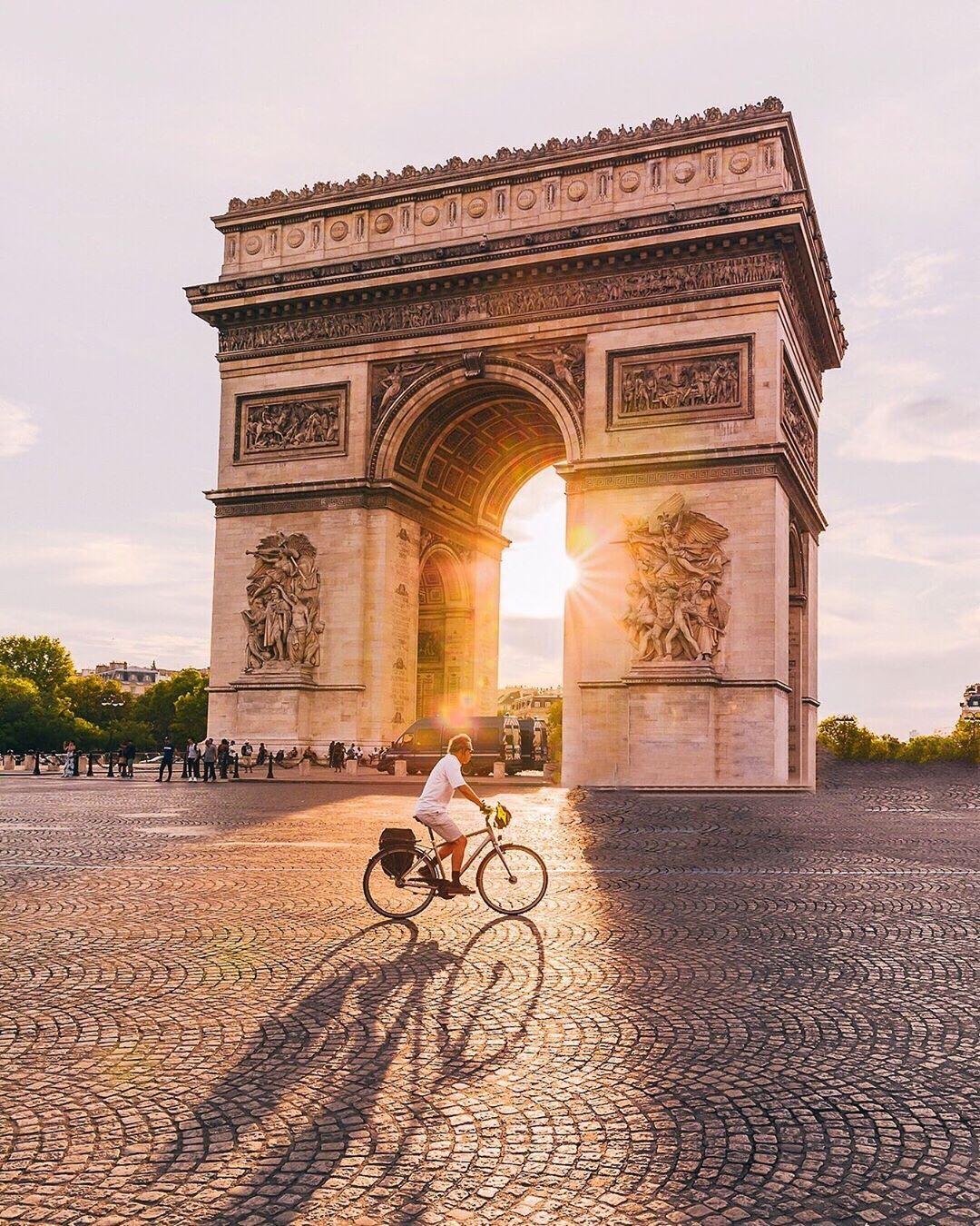 Arc de Triomphe, Khải Hoàn Môn, Pháp