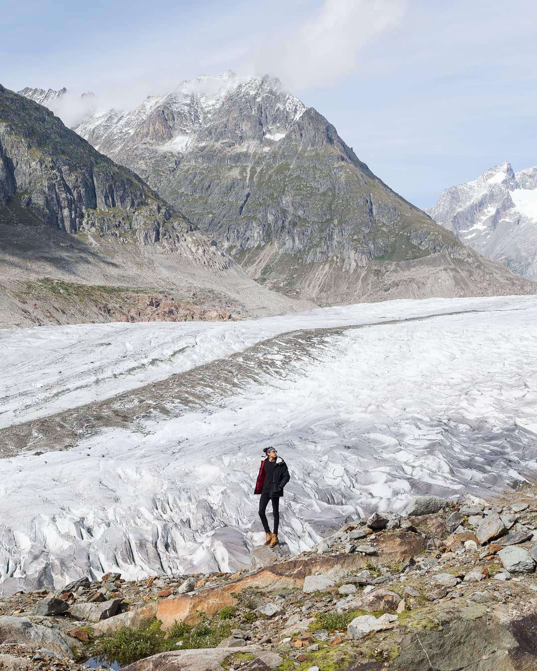 Sông băng Aletsch, Thụy Sỹ
