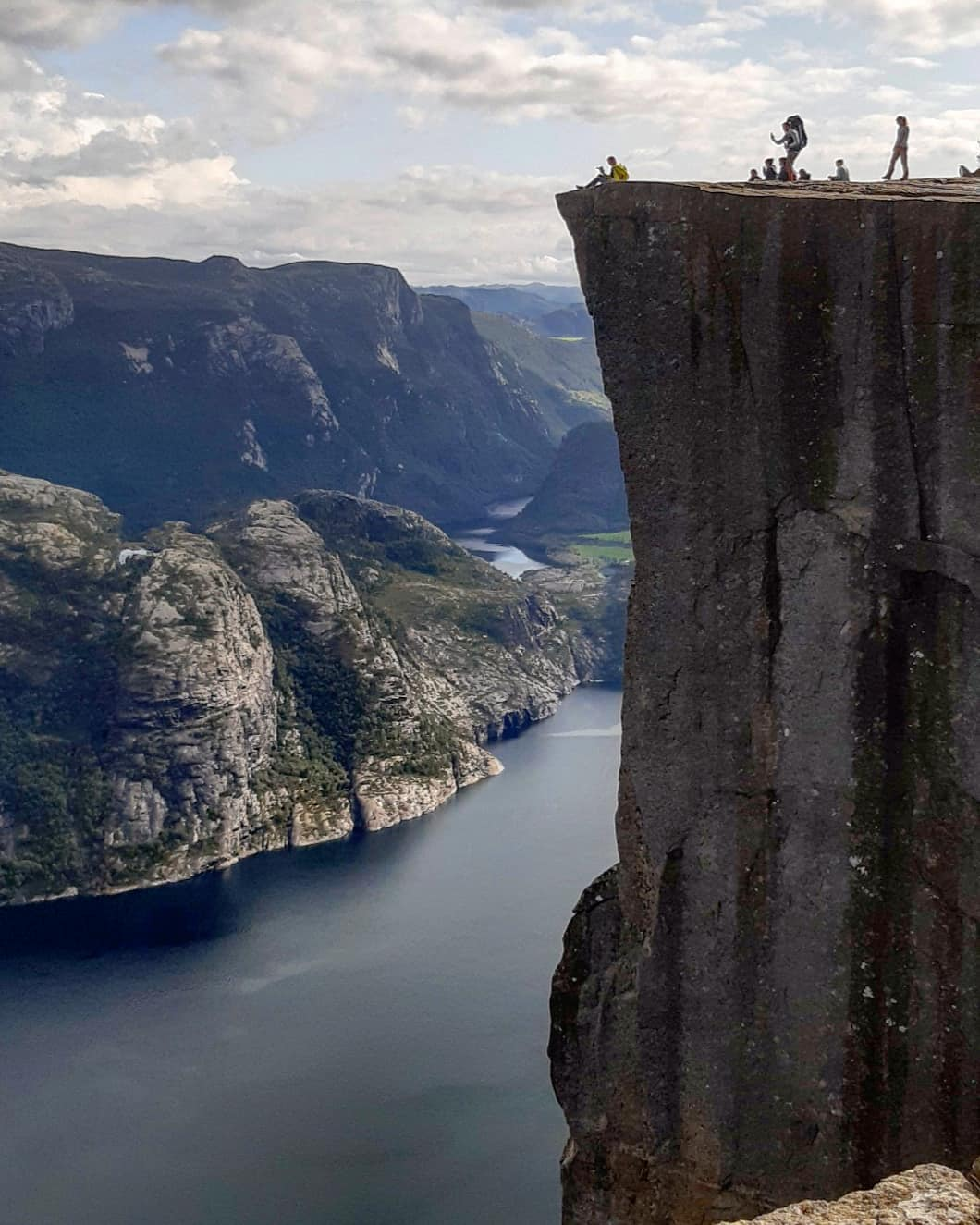 Preikestolen (Pulpit Rock), Na Uy