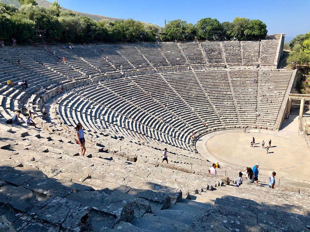 Nhà hát cổ ngoài trời Epidaurus, Hy Lạp
