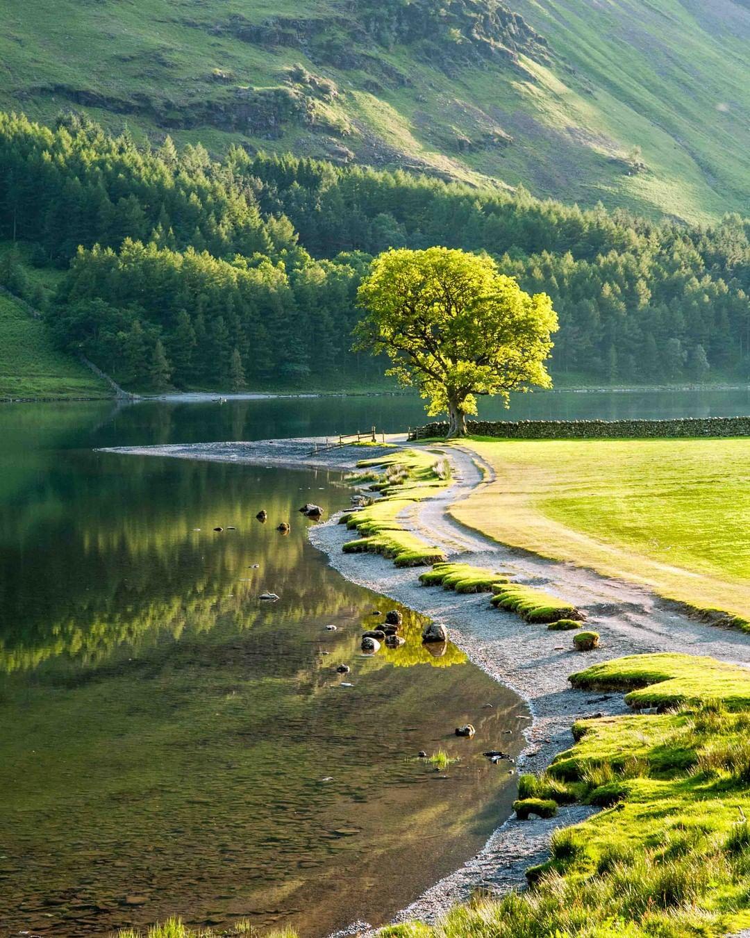 Buttermere, Cumbria, Lake District, Vương quốc Anh