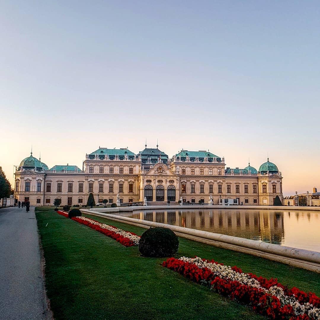 Shlöss Belvedere, Vienna, Áo