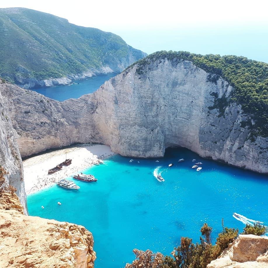 Navagio Shipwreck, Hy Lạp