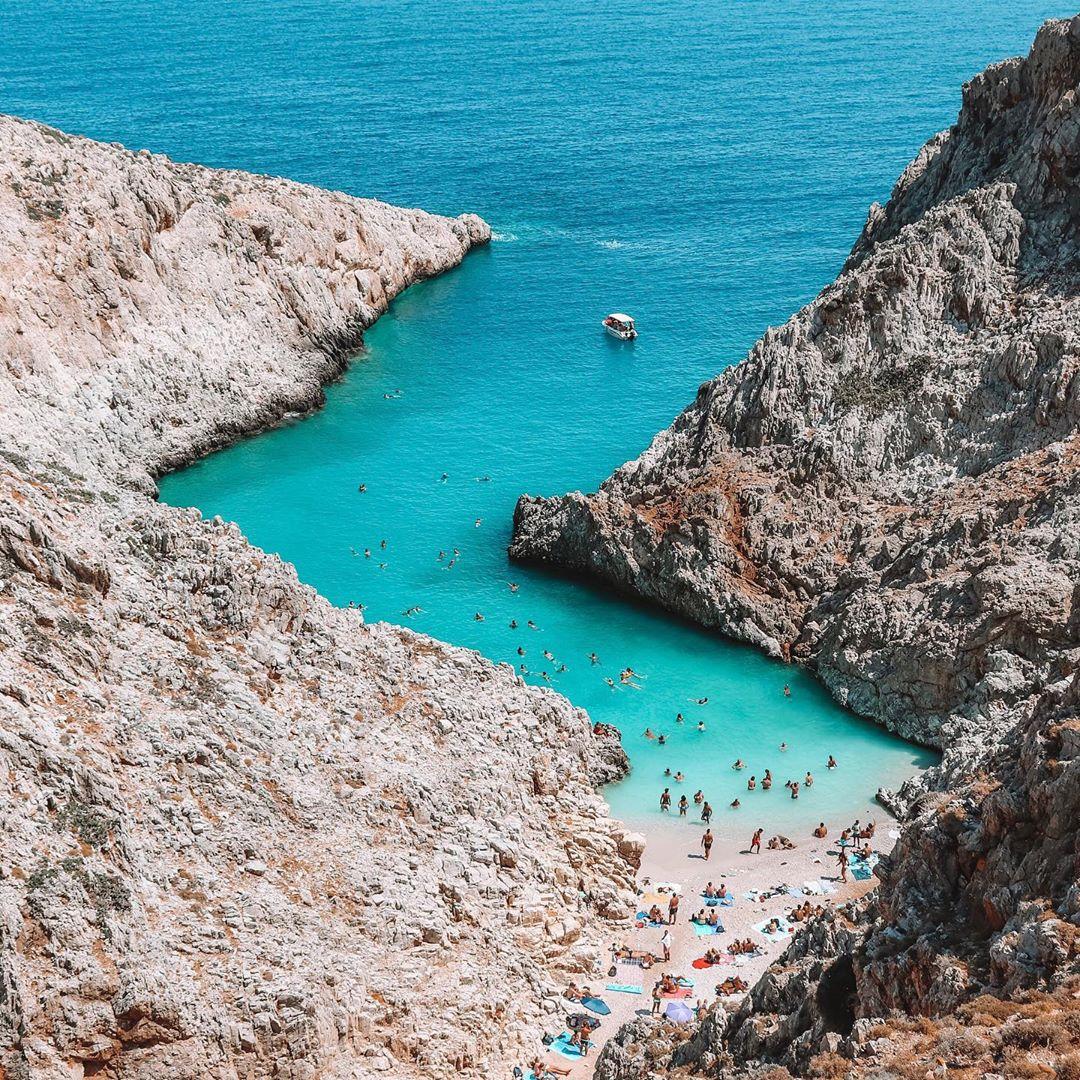 Seitan Limani, Crete, Hy Lạp