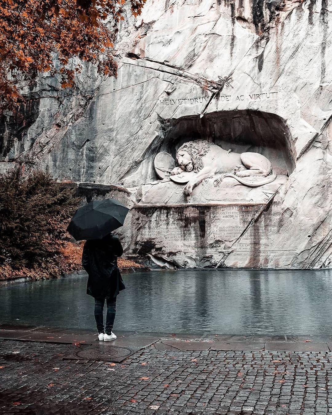 Löwendenkmal Luzern, Lion Monument, Thụy Sỹ