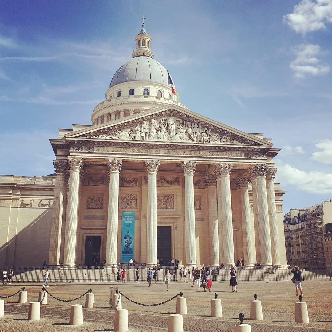 Đền Pantheon, Paris, Pháp