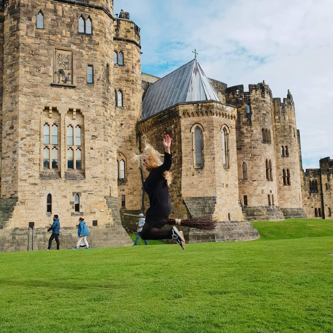 Lâu đài Alnwick, Vương quốc Anh