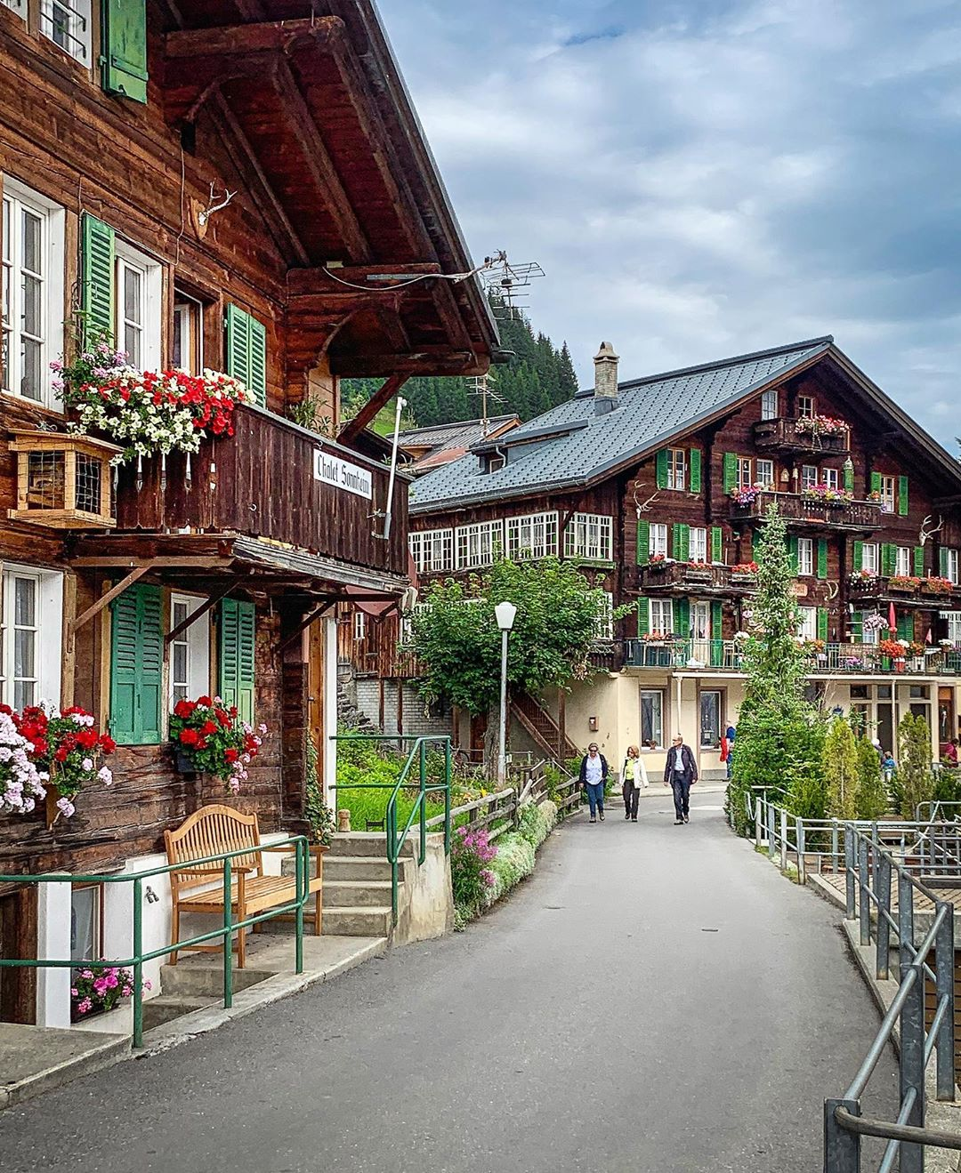 Mürren, Bernese Alps, Thụy Sỹ
