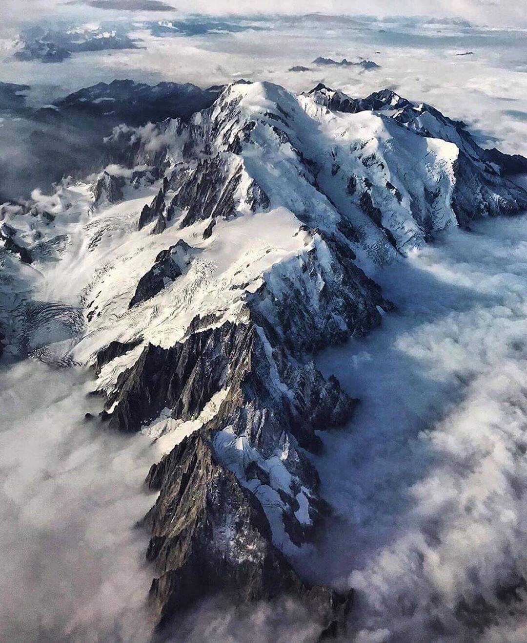 Mont Blanc, Pháp