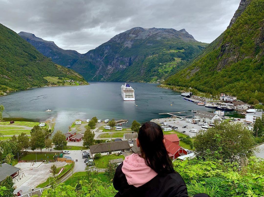 Geirangerfjord, Na Uy
