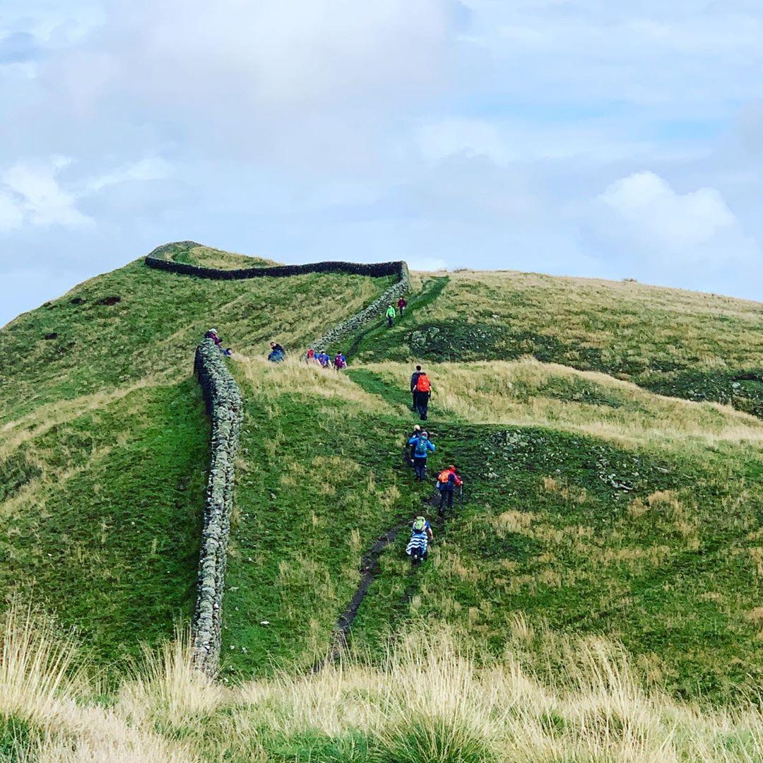 Tường thành Hadrian, Vương quốc Anh