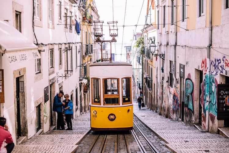 Xe điện ở Lisbon, Bồ Đào Nha