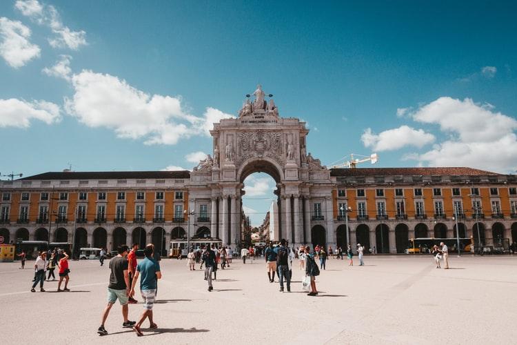 Praça do Comércio, Lisbon, Bồ Đào Nha