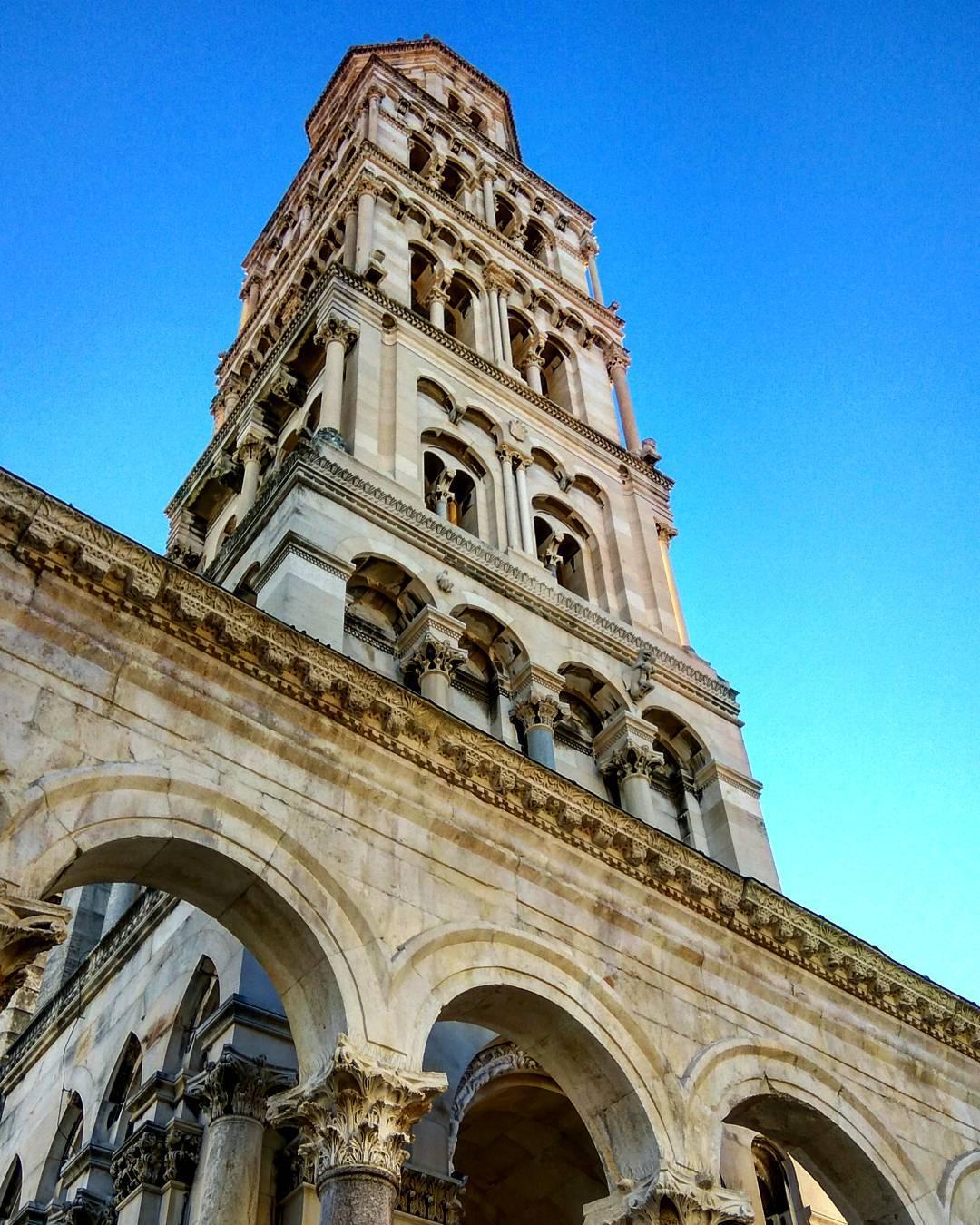 Tháp chuông Domnius, Split, Croatia