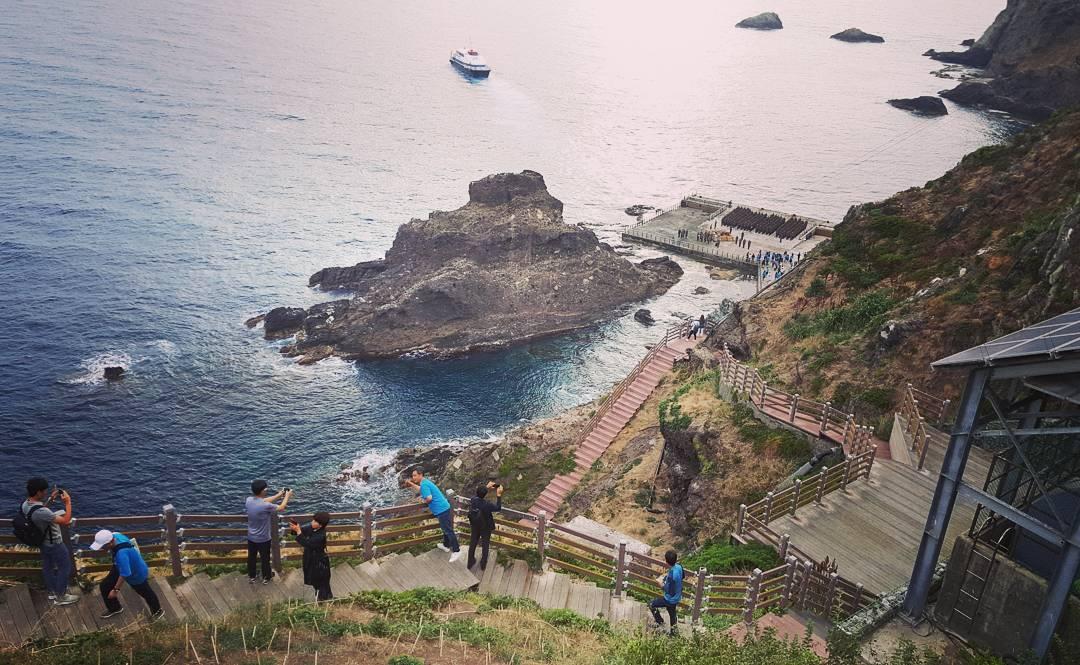 Đảo Dokdo, Hàn Quốc