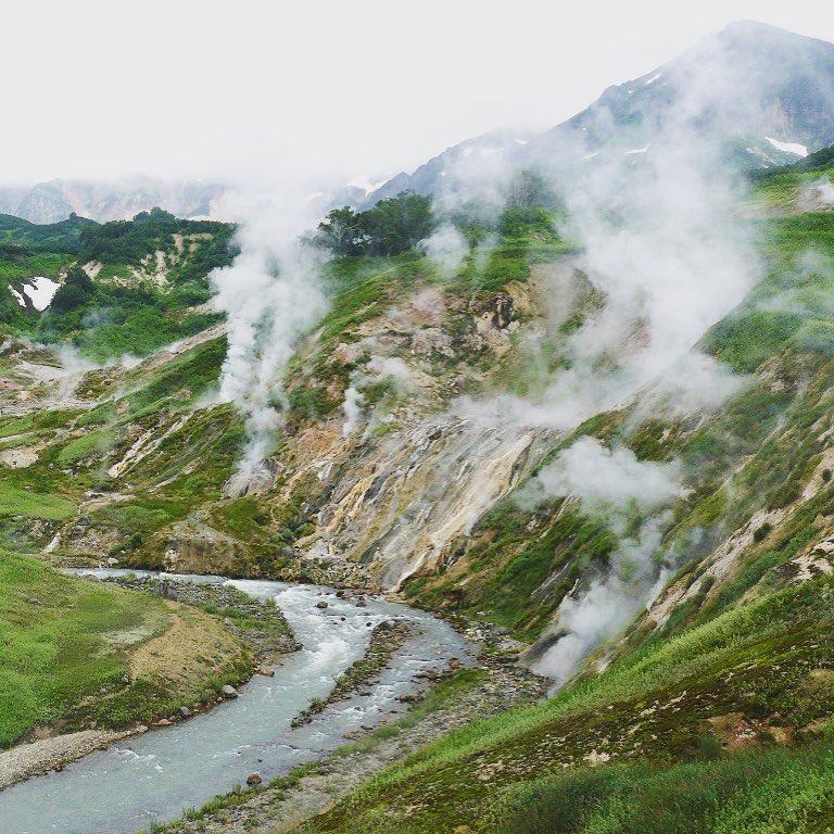 Thung lũng Geysers ở Kamchatka, Nga