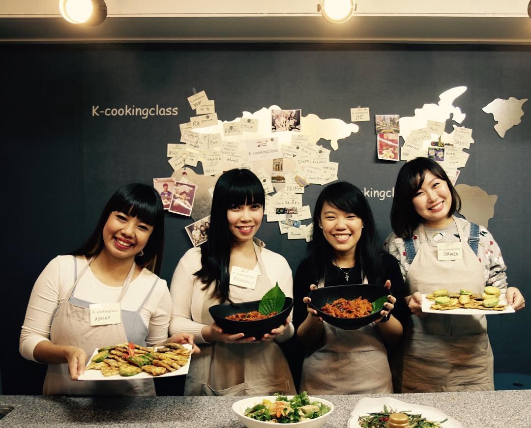 Lớp học nấu ăn ở Seoul, Hàn Quốc