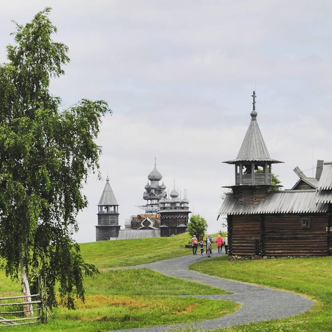 """""""Bảo tàng"""" Kizhi, Hồ Onega, Cộng hòa Kareliya, thành phố Petrozavodsk, Nga"""