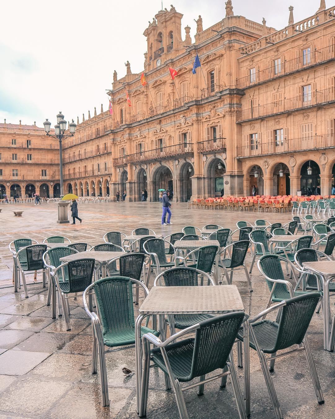 Plaza Mayor De Salamanca, Tây Ban Nha