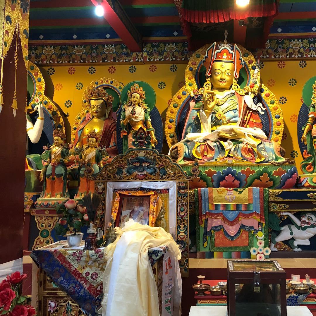 Ngôi chùa ở làng Khumjung ở vùng Khumbu, Everest base camp, Nepal