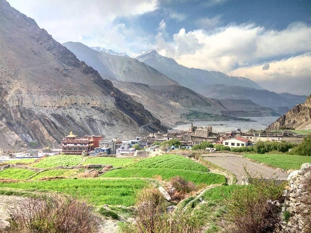 Toàn cảnh thung lũng Kali Gandaki, Nepal