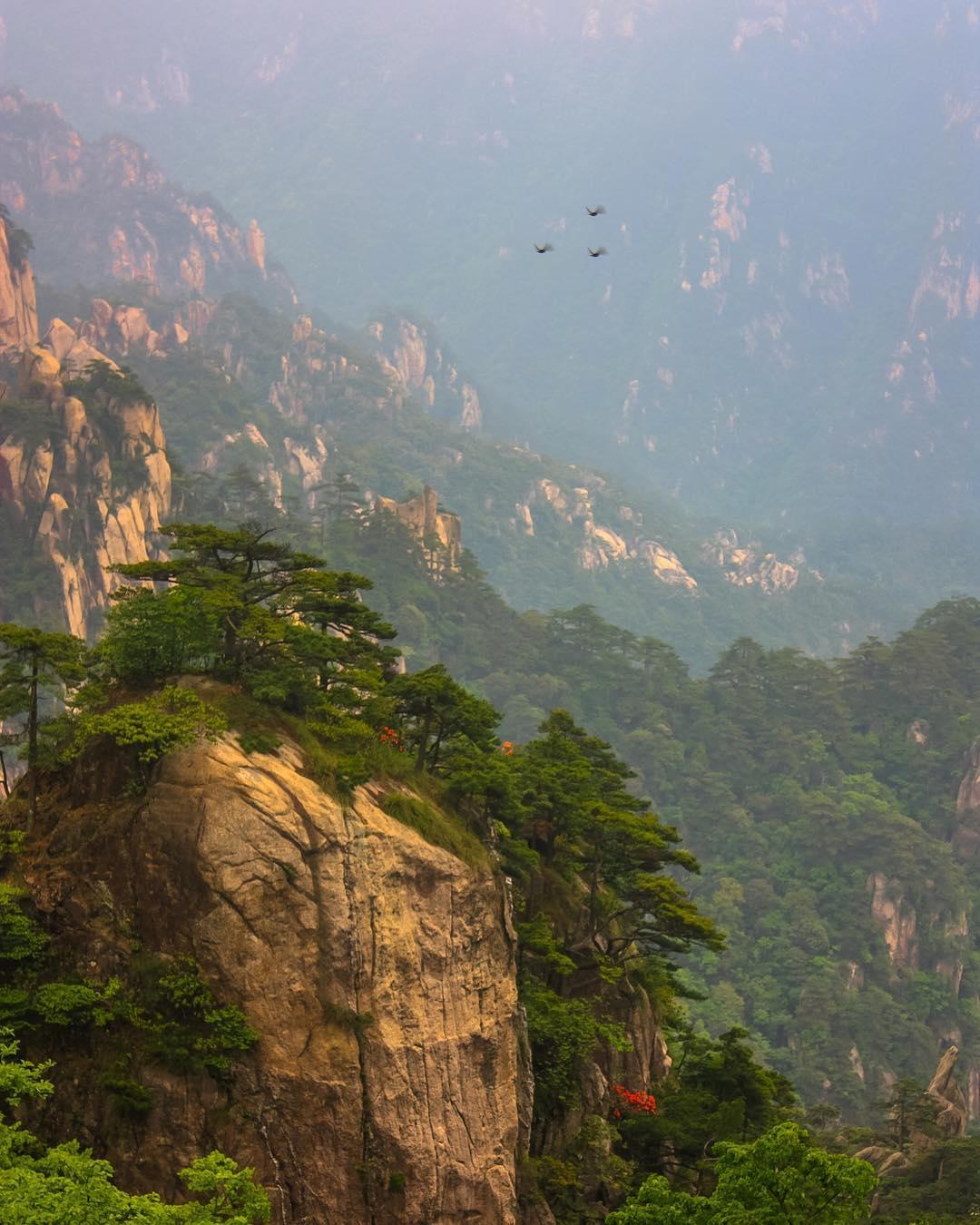 Núi Tam Thanh, Giang Tây, Trung Quốc