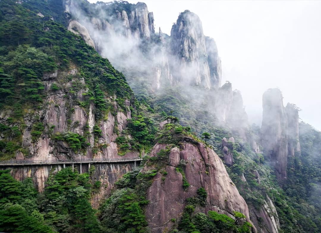 Núi Sanqing, núi Tam Thanh, Giang Tây, Trung Quốc
