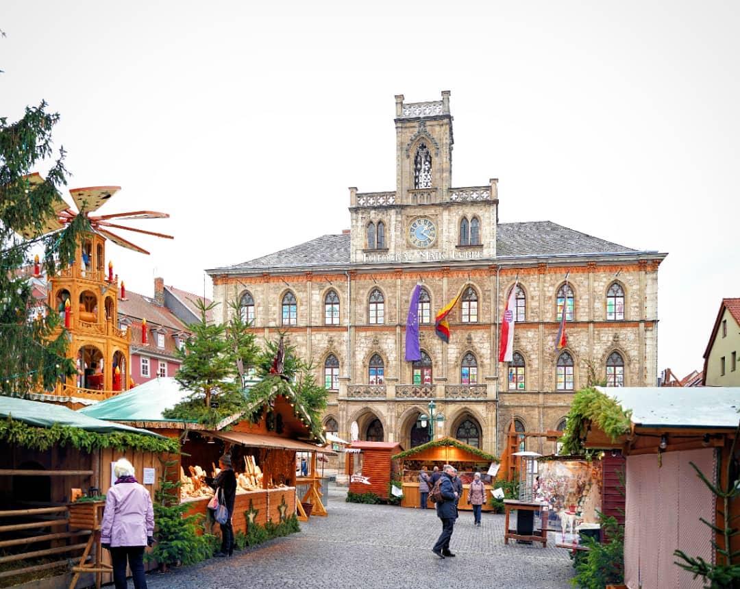 Weihnachtsmarkt Weimar, Đức