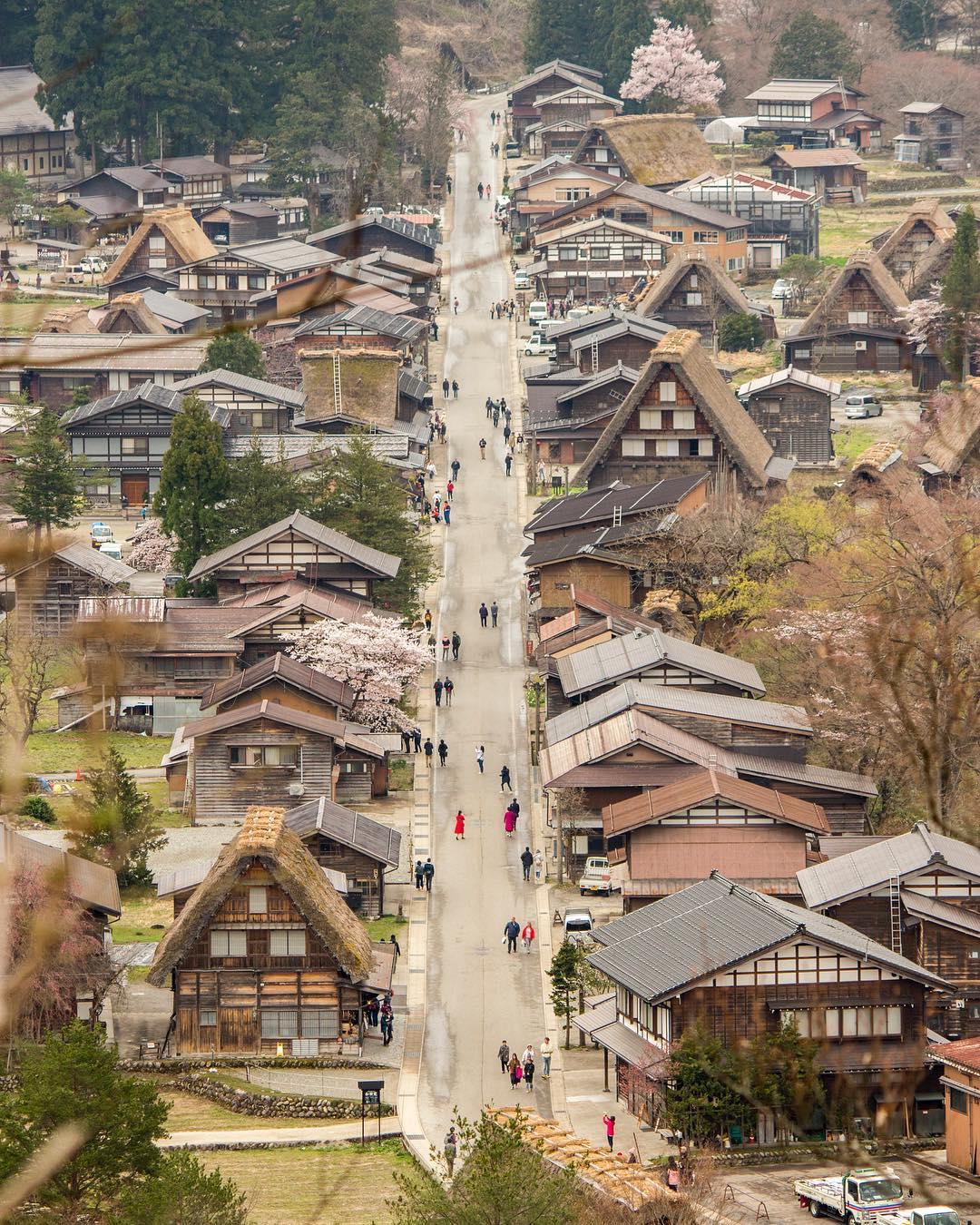 Làng Shirakawa, quận Gifu, Nhật Bản