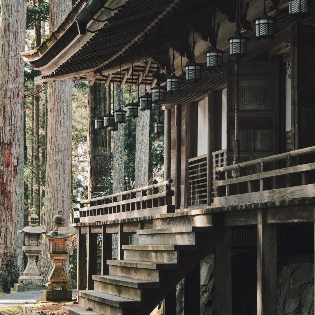 GARAN - Quần thể tôn giáo chính của núi Koya, quận Wakayama, Nhật Bản