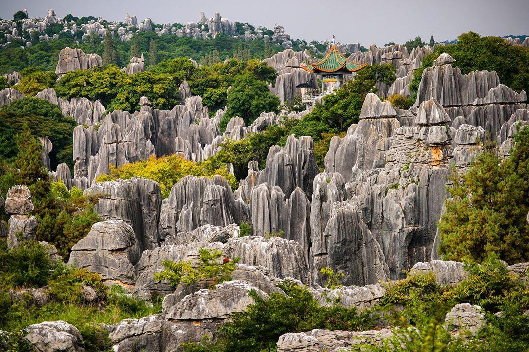 Rừng đá Thạch Lâm, Vân Nam, Trung Quốc