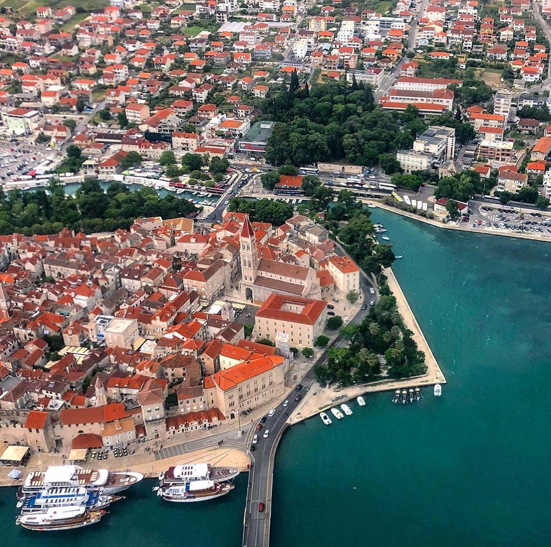 Thị trấn Trogir, Croatia